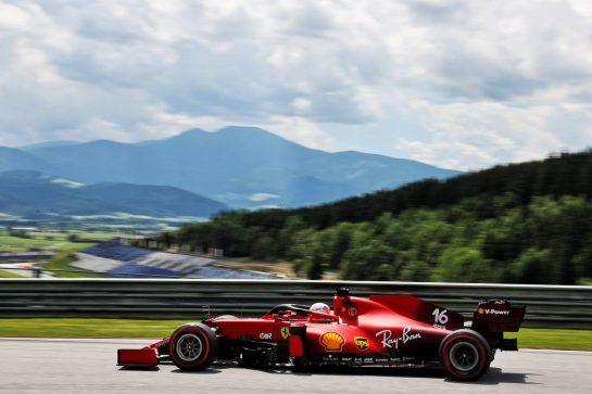 Charles Leclerc (MON) Ferrari SF-21. 25.06.2021. Formula 1 World Championship, Rd 8, Steiermark Grand Prix, Spielberg, Austria, Practice Day. - www.xpbimages.com, EMail: requests@xpbimages.com © Copyright: Batchelor / XPB Images