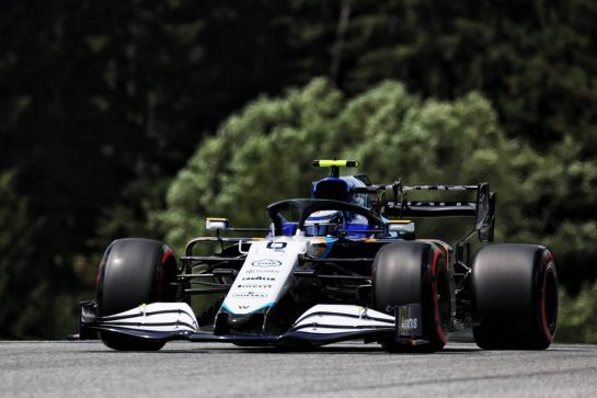 Nicholas Latifi (CDN) Williams Racing FW43B. 25.06.2021. Formula 1 World Championship, Rd 8, Steiermark Grand Prix, Spielberg, Austria, Practice Day. - www.xpbimages.com, EMail: requests@xpbimages.com © Copyright: Batchelor / XPB Images
