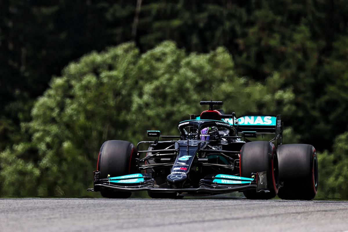 Lewis Hamilton (GBR) Mercedes AMG F1 W12. 25.06.2021. Formula 1 World Championship, Rd 8, Steiermark Grand Prix, Spielberg