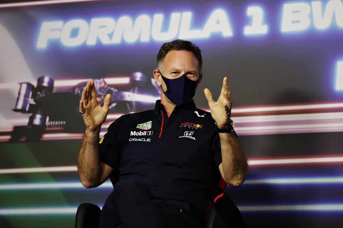 Christian Horner (GBR) Red Bull Racing Team Principal in the FIA Press Conference. 25.06.2021. Formula 1 World Championship, Rd 8, Steiermark Grand Prix, Spielberg
