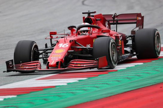 Charles Leclerc (FRA), Scuderia Ferrari  25.06.2021. Formula 1 World Championship, Rd 8, Steiermark Grand Prix, Spielberg, Austria, Practice Day. - www.xpbimages.com, EMail: requests@xpbimages.com © Copyright: Charniaux / XPB Images