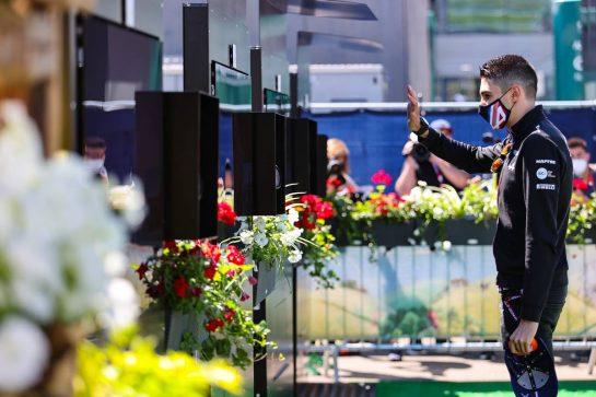 Esteban Ocon (FRA), Alpine F1 Team 26.06.2021. Formula 1 World Championship, Rd 8, Steiermark Grand Prix, Spielberg, Austria, Qualifying Day.- www.xpbimages.com, EMail: requests@xpbimages.com © Copyright: Charniaux / XPB Images