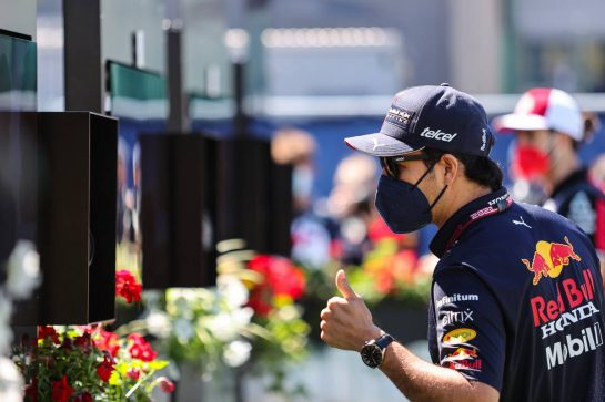 Sergio Perez (MEX), Red Bull Racing 26.06.2021. Formula 1 World Championship, Rd 8, Steiermark Grand Prix, Spielberg, Austria, Qualifying Day.- www.xpbimages.com, EMail: requests@xpbimages.com © Copyright: Charniaux / XPB Images