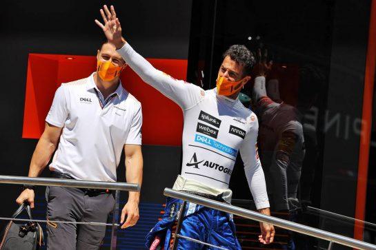 Daniel Ricciardo (AUS) McLaren. 26.06.2021. Formula 1 World Championship, Rd 8, Steiermark Grand Prix, Spielberg, Austria, Qualifying Day. - www.xpbimages.com, EMail: requests@xpbimages.com © Copyright: Moy / XPB Images