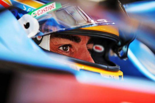 Fernando Alonso (ESP) Alpine F1 Team A521. 26.06.2021. Formula 1 World Championship, Rd 8, Steiermark Grand Prix, Spielberg, Austria, Qualifying Day. - www.xpbimages.com, EMail: requests@xpbimages.com © Copyright: Moy / XPB Images