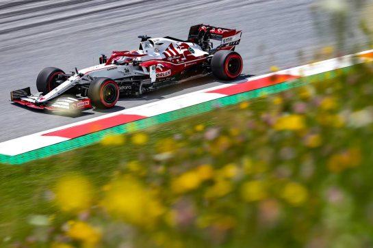 Kimi Raikkonen (FIN), Alfa Romeo Racing 26.06.2021. Formula 1 World Championship, Rd 8, Steiermark Grand Prix, Spielberg, Austria, Qualifying Day.- www.xpbimages.com, EMail: requests@xpbimages.com © Copyright: Charniaux / XPB Images