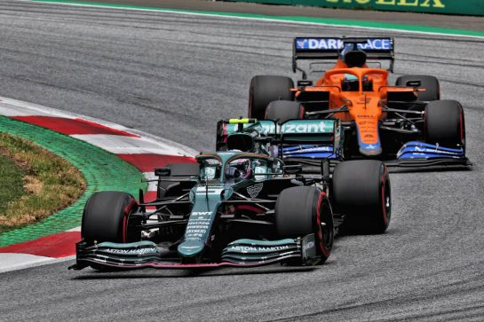 Sebastian Vettel (GER) Aston Martin F1 Team AMR21. 26.06.2021. Formula 1 World Championship, Rd 8, Steiermark Grand Prix, Spielberg, Austria, Qualifying Day. - www.xpbimages.com, EMail: requests@xpbimages.com © Copyright: Batchelor / XPB Images