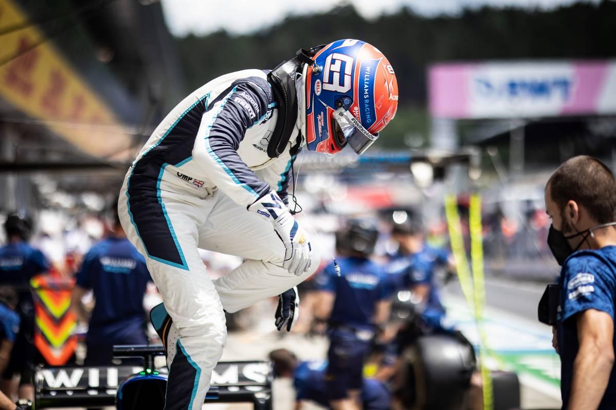 George Russell (GBR) Williams Racing FW43B. 26.06.2021. Formula 1 World Championship, Rd 8, Steiermark Grand Prix, Spielberg