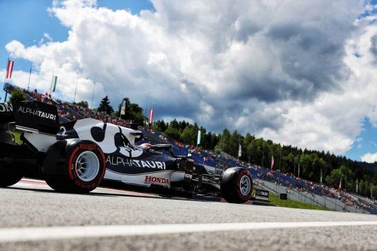 Yuki Tsunoda (JPN) AlphaTauri AT02. 26.06.2021. Formula 1 World Championship, Rd 8, Steiermark Grand Prix, Spielberg, Austria, Qualifying Day. - www.xpbimages.com, EMail: requests@xpbimages.com © Copyright: Batchelor / XPB Images