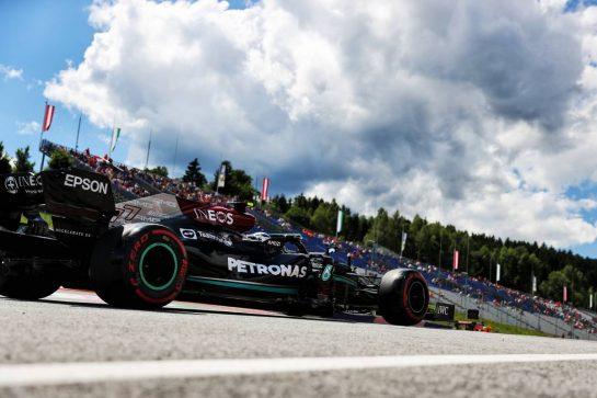 Valtteri Bottas (FIN) Mercedes AMG F1 W12. 26.06.2021. Formula 1 World Championship, Rd 8, Steiermark Grand Prix, Spielberg, Austria, Qualifying Day. - www.xpbimages.com, EMail: requests@xpbimages.com © Copyright: Batchelor / XPB Images