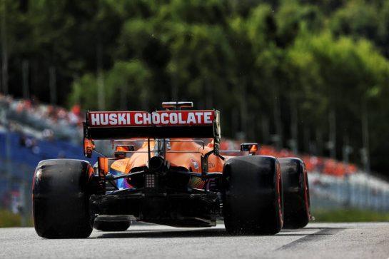 Daniel Ricciardo (AUS) McLaren MCL35M. 26.06.2021. Formula 1 World Championship, Rd 8, Steiermark Grand Prix, Spielberg, Austria, Qualifying Day. - www.xpbimages.com, EMail: requests@xpbimages.com © Copyright: Batchelor / XPB Images