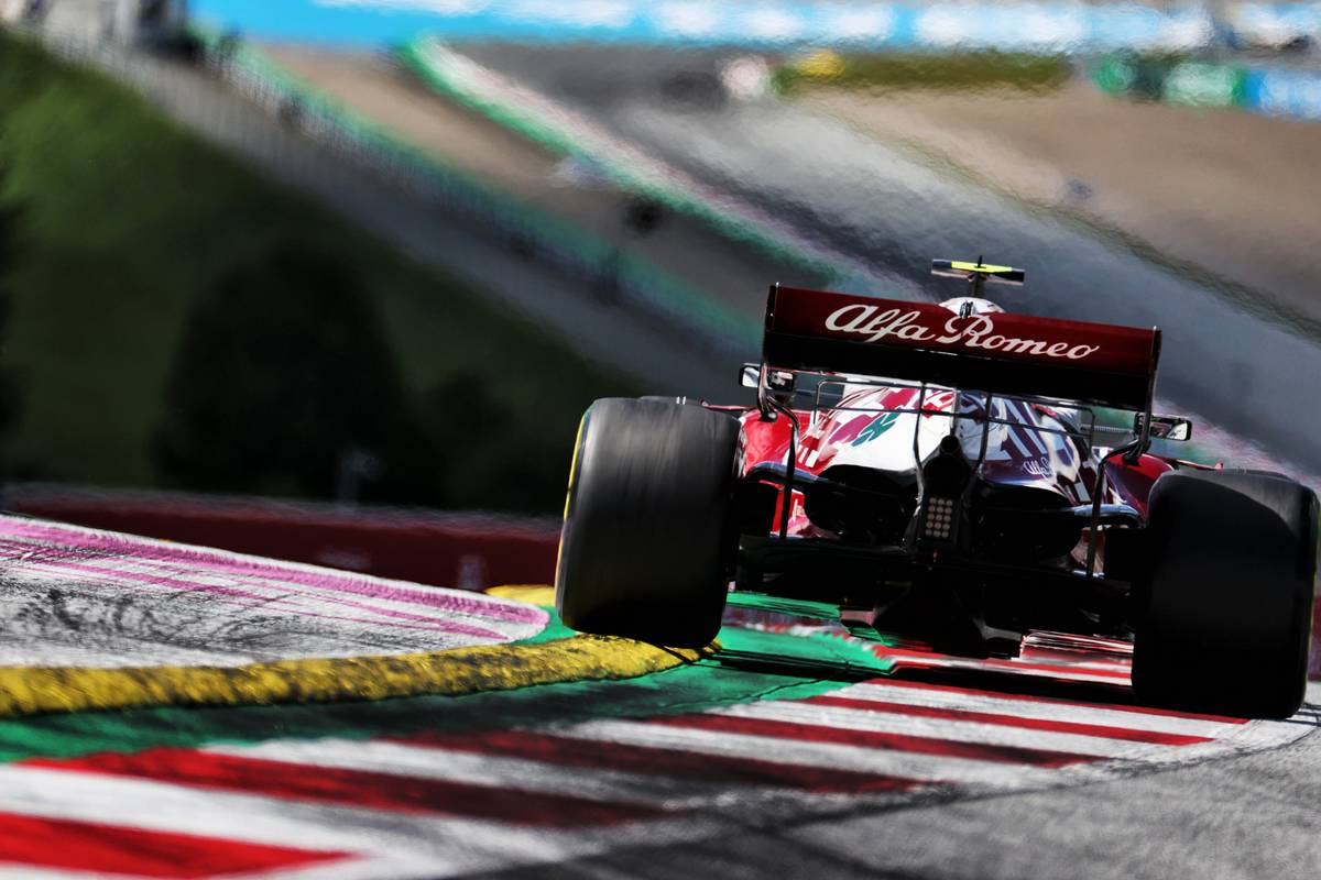 Antonio Giovinazzi (ITA) Alfa Romeo Racing C41. 26.06.2021. Formula 1 World Championship, Rd 8, Steiermark Grand Prix, Spielberg