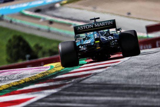 Lance Stroll (CDN) Aston Martin F1 Team AMR21. 26.06.2021. Formula 1 World Championship, Rd 8, Steiermark Grand Prix, Spielberg, Austria, Qualifying Day. - www.xpbimages.com, EMail: requests@xpbimages.com © Copyright: Batchelor / XPB Images
