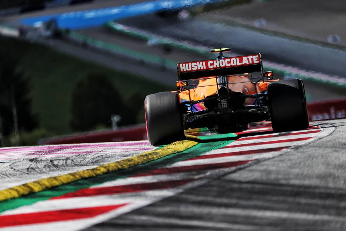 Lando Norris (GBR) McLaren MCL35M. 26.06.2021. Formula 1 World Championship, Rd 8, Steiermark Grand Prix, Spielberg