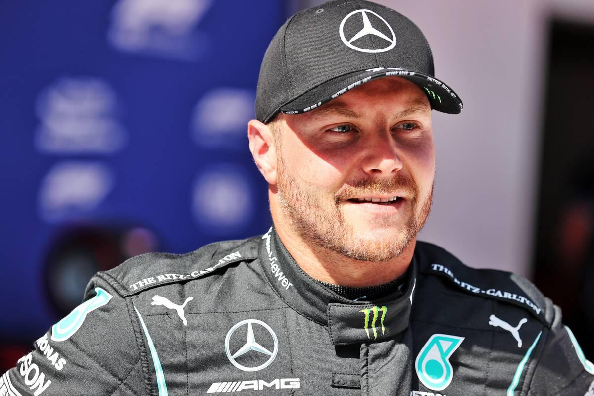 Valtteri Bottas (FIN) Mercedes AMG F1 in qualifying parc ferme. 26.06.2021. Formula 1 World Championship, Rd 8, Steiermark Grand Prix, Spielberg