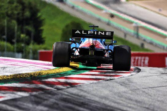 Fernando Alonso (ESP) Alpine F1 Team A521. 27.06.2021. Formula 1 World Championship, Rd 8, Steiermark Grand Prix, Spielberg, Austria, Race Day. - www.xpbimages.com, EMail: requests@xpbimages.com © Copyright: Charniaux / XPB Images