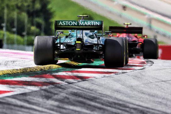 Sebastian Vettel (GER) Aston Martin F1 Team AMR21. 27.06.2021. Formula 1 World Championship, Rd 8, Steiermark Grand Prix, Spielberg, Austria, Race Day. - www.xpbimages.com, EMail: requests@xpbimages.com © Copyright: Charniaux / XPB Images