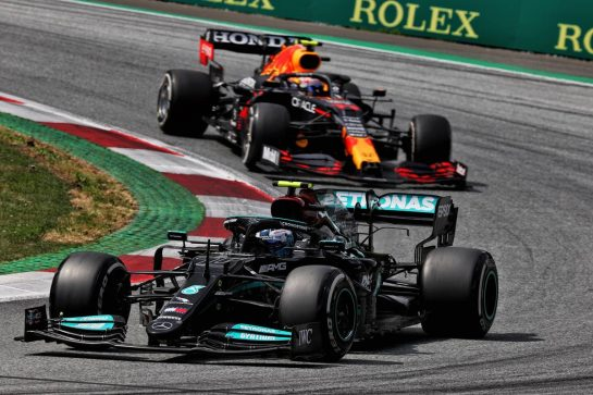 Valtteri Bottas (FIN) Mercedes AMG F1 W12. 27.06.2021. Formula 1 World Championship, Rd 8, Steiermark Grand Prix, Spielberg, Austria, Race Day. - www.xpbimages.com, EMail: requests@xpbimages.com © Copyright: Batchelor / XPB Images