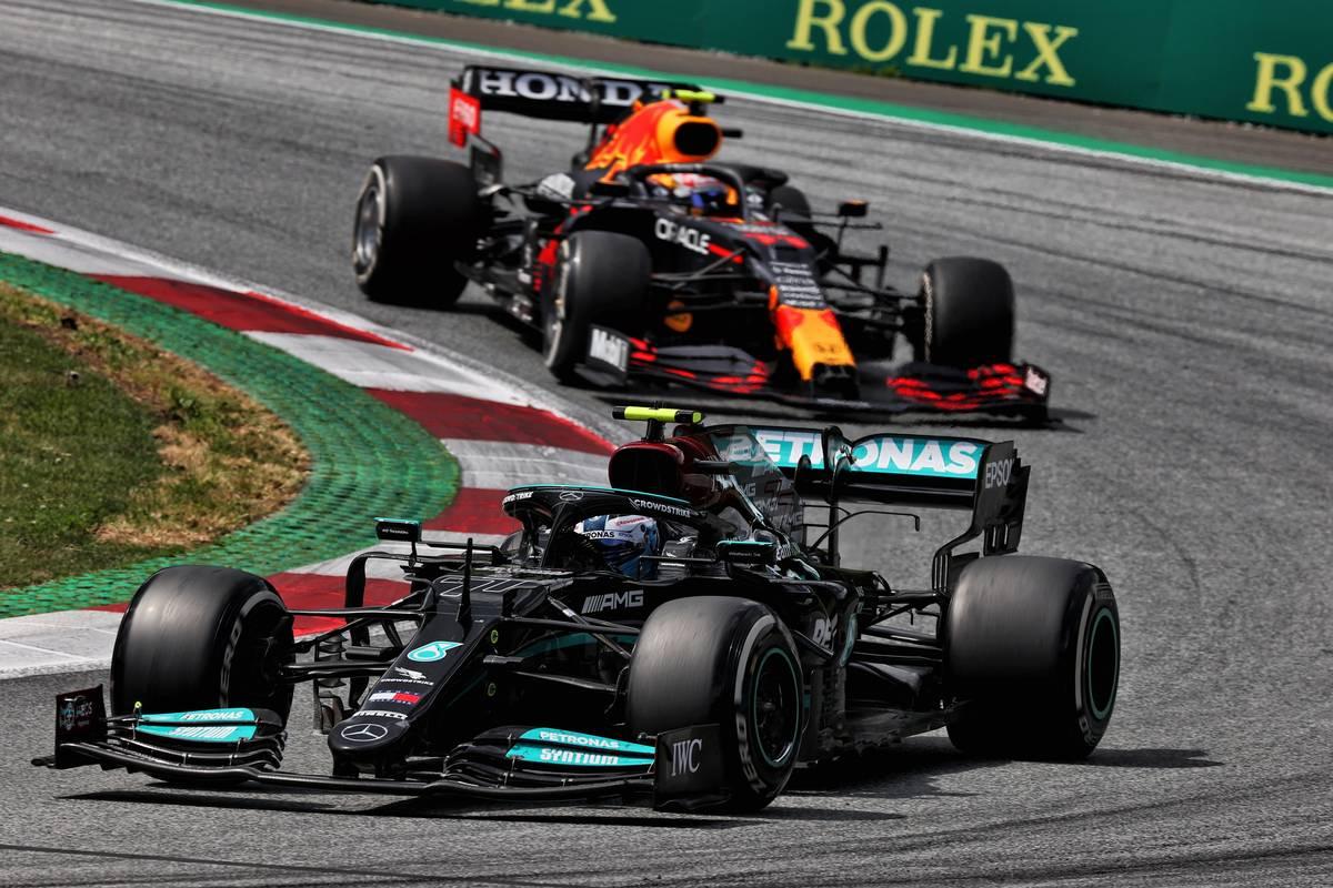 Valtteri Bottas (FIN) Mercedes AMG F1 W12. 27.06.2021. Formula 1 World Championship, Rd 8, Steiermark Grand Prix, Spielberg