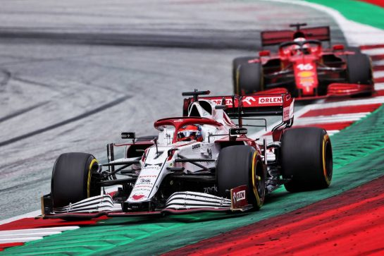 Kimi Raikkonen (FIN) Alfa Romeo Racing C41. 27.06.2021. Formula 1 World Championship, Rd 8, Steiermark Grand Prix, Spielberg, Austria, Race Day. - www.xpbimages.com, EMail: requests@xpbimages.com © Copyright: Charniaux / XPB Images