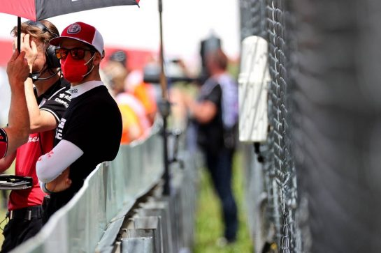 Antonio Giovinazzi (ITA) Alfa Romeo Racing.27.06.2021. Formula 1 World Championship, Rd 8, Steiermark Grand Prix, Spielberg, Austria, Race Day.- www.xpbimages.com, EMail: requests@xpbimages.com © Copyright: Batchelor / XPB Images
