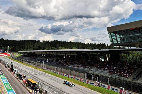 Nicholas Latifi (CDN) Williams Racing FW43B. 27.06.2021. Formula 1 World Championship, Rd 8, Steiermark Grand Prix, Spielberg, Austria, Race Day. - www.xpbimages.com, EMail: requests@xpbimages.com © Copyright: Moy / XPB Images