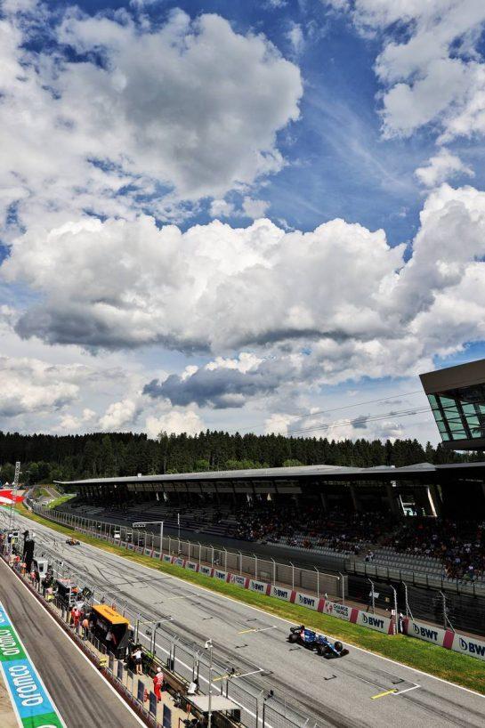 Esteban Ocon (FRA) Alpine F1 Team A521. 27.06.2021. Formula 1 World Championship, Rd 8, Steiermark Grand Prix, Spielberg, Austria, Race Day. - www.xpbimages.com, EMail: requests@xpbimages.com © Copyright: Moy / XPB Images