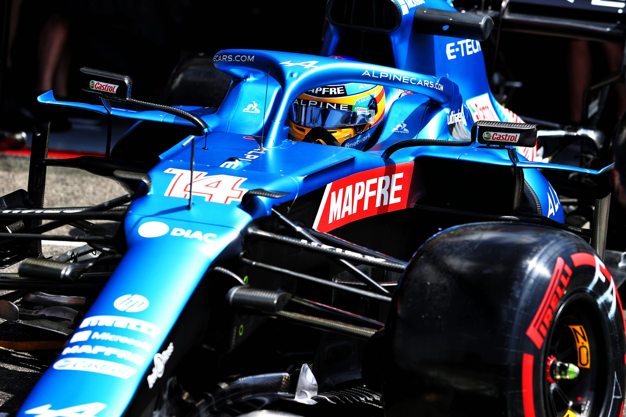 Alonso: Alpine 'looking quite competitive' after strong Friday