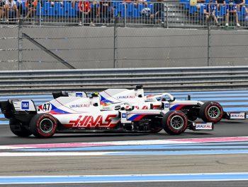 Schumacher ruffled again by aggressive Mazepin maneuver