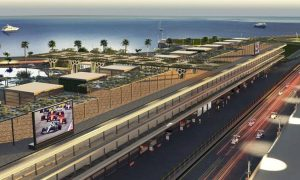 Saudi Arabian GP releases first images of pit complex
