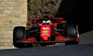 Leclerc stunned to take Baku pole with 'sh*t lap'