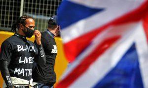 Hamilton 'excited' over British GP crowd return, but urges caution