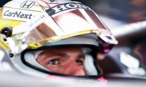 Verstappen satisfied with progress, Perez optimistic