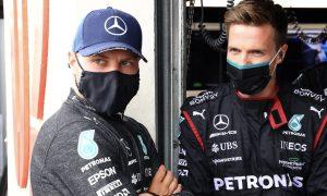 Bottas justifies radio outburst over Mercedes strategy