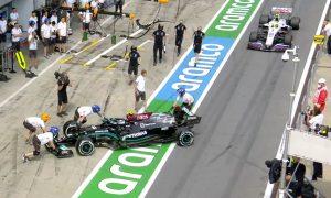 Bottas: Three-place grid drop for 'dangerous' pit lane mishap