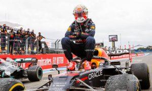 Verstappen: No burnout? 'I'll do a doughnut next time!'