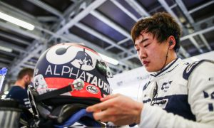 Tsunoda admits to 'mixed feelings' after Q3 first and crash