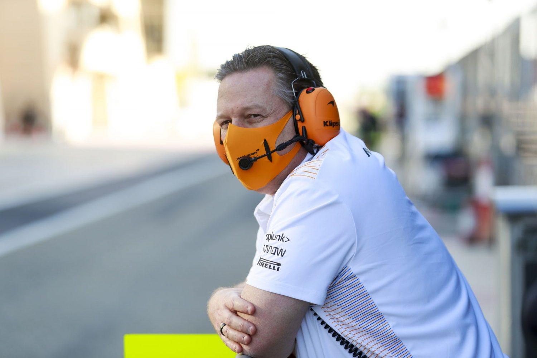 Brown sets 2024 'no excuses' target for McLaren wins