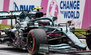 Aston Martin goes top five with 'more aggressive' Friday
