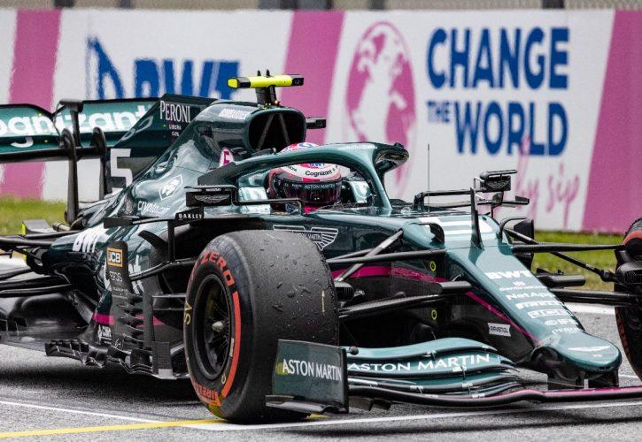 Sebastian Vettel, Aston Martin at the Austrian Grand Prix. Friday July 2 2021, Spielberg, Austria.
