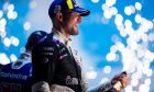 BMW Andretti's Jake Dennis clinches victory in the 2021 London E-Prix at the ExCel Centre. Saturday July 24 2021
