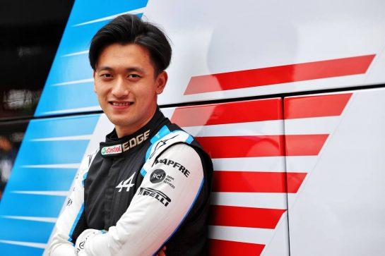 Guanyu Zhou (CHN) Alpine F1 Team Test Driver. 01.07.2021. Formula 1 World Championship, Rd 9, Austrian Grand Prix, Spielberg, Austria, Preparation Day. - www.xpbimages.com, EMail: requests@xpbimages.com © Copyright: Moy / XPB Images