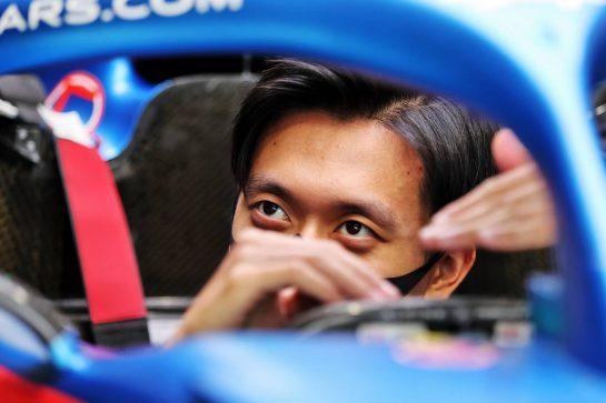 Guanyu Zhou (CHN) Alpine F1 Team RS20 Test Driver. 01.07.2021. Formula 1 World Championship, Rd 9, Austrian Grand Prix, Spielberg, Austria, Preparation Day. - www.xpbimages.com, EMail: requests@xpbimages.com © Copyright: Moy / XPB Images