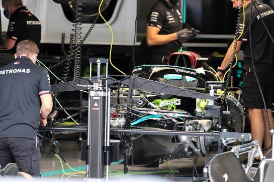 Mercedes AMG F1 W12 detail. 01.07.2021. Formula 1 World Championship, Rd 9, Austrian Grand Prix, Spielberg, Austria, Preparation Day. - www.xpbimages.com, EMail: requests@xpbimages.com © Copyright: Batchelor / XPB Images