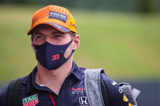 Max Verstappen (NLD), Red Bull Racing 01.07.2021. Formula 1 World Championship, Rd 9, Austrian Grand Prix, Spielberg, Austria, Preparation Day.- www.xpbimages.com, EMail: requests@xpbimages.com © Copyright: Charniaux / XPB Images