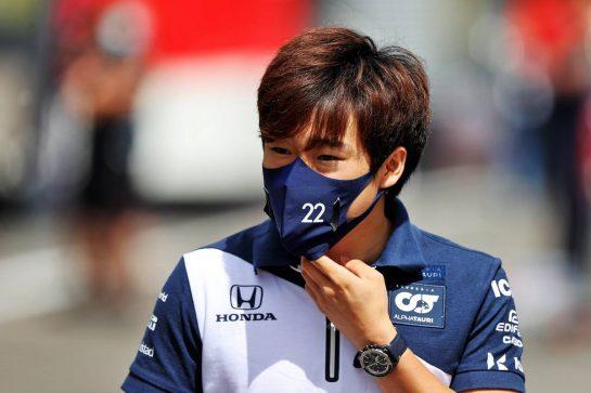 Yuki Tsunoda (JPN) AlphaTauri. 01.07.2021. Formula 1 World Championship, Rd 9, Austrian Grand Prix, Spielberg, Austria, Preparation Day. - www.xpbimages.com, EMail: requests@xpbimages.com © Copyright: Moy / XPB Images
