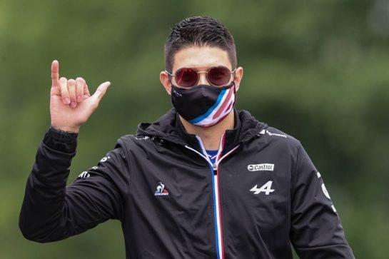 Esteban Ocon (FRA), Alpine F1 Team 02.07.2021. Formula 1 World Championship, Rd 9, Austrian Grand Prix, Spielberg, Austria, Practice Day.- www.xpbimages.com, EMail: requests@xpbimages.com © Copyright: Charniaux / XPB Images