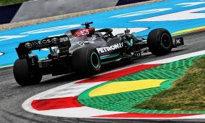 Hamilton and Bottas go top in second practice in Austria
