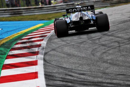 Nicholas Latifi (CDN) Williams Racing FW43B. 02.07.2021. Formula 1 World Championship, Rd 9, Austrian Grand Prix, Spielberg, Austria, Practice Day. - www.xpbimages.com, EMail: requests@xpbimages.com © Copyright: Batchelor / XPB Images