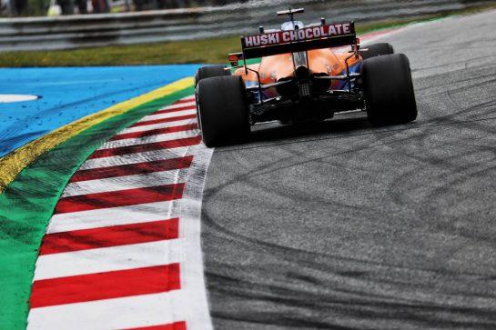 Daniel Ricciardo (AUS) McLaren MCL35M. 02.07.2021. Formula 1 World Championship, Rd 9, Austrian Grand Prix, Spielberg, Austria, Practice Day. - www.xpbimages.com, EMail: requests@xpbimages.com © Copyright: Batchelor / XPB Images